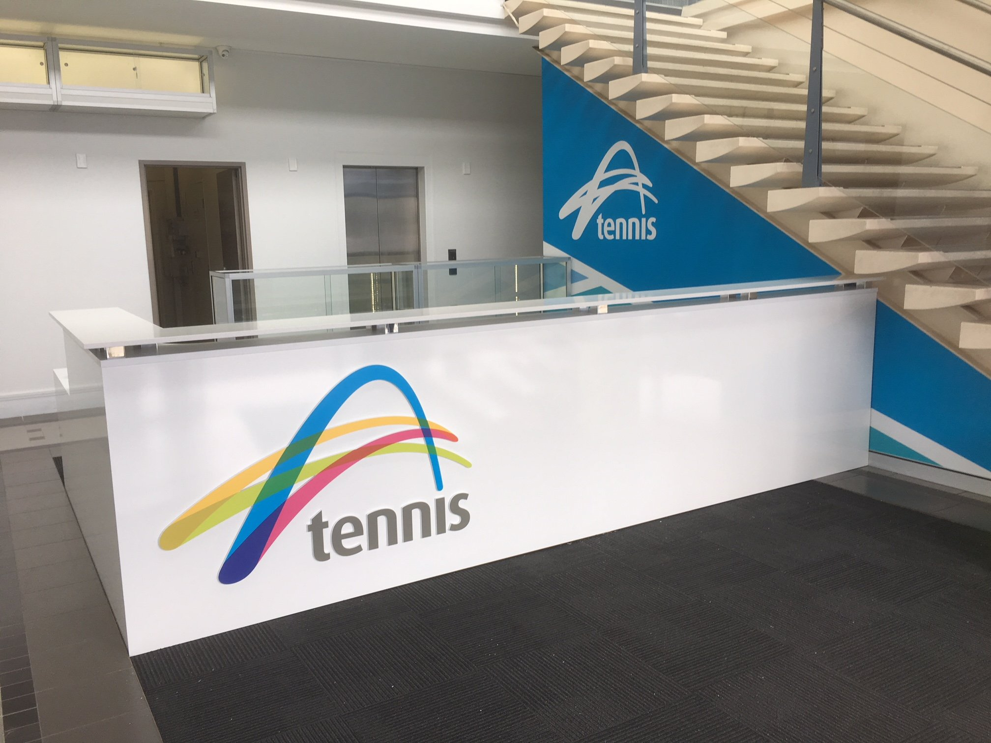 Tennis West Office Fit Out Perth