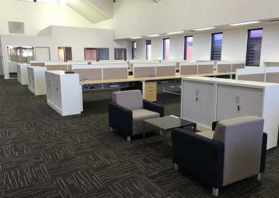 office furniture fit out seating chairs quiet