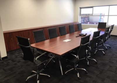 Boardroom Table and chairs - office furniture perth