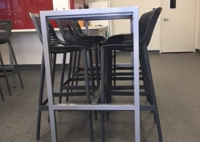 custom lunchroom table -= office furniture perth