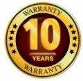 10yr Warranty