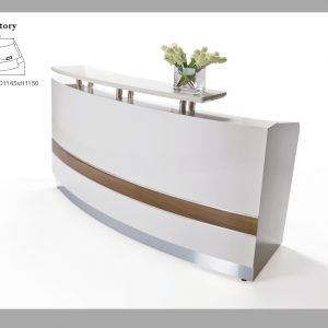 Conservatory reception counter desk