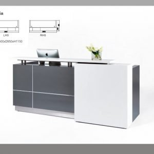 Calvin reception desk counter