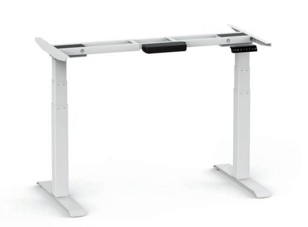 3 stage sit stand desk