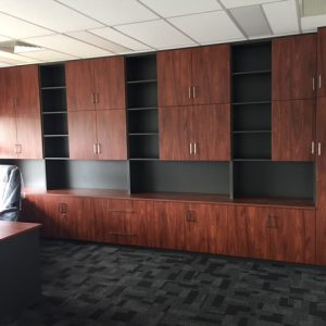 custom office filing storage