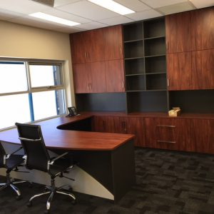 Custom desk, desks, storage