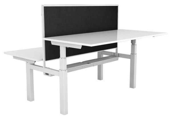Paramount-Elec-B2B sit stand desk & screen