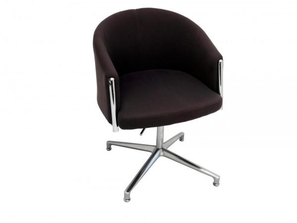 Splash Club Charcoal office chair