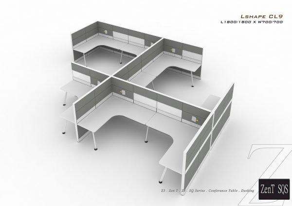 SQS workstation leg system