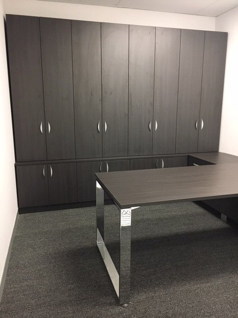 Custom T883 workstation, desk office furniture perth