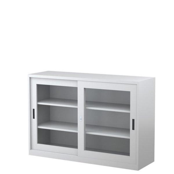 Glass Sliding Door Cabinet