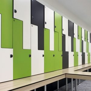 Laminate lockers
