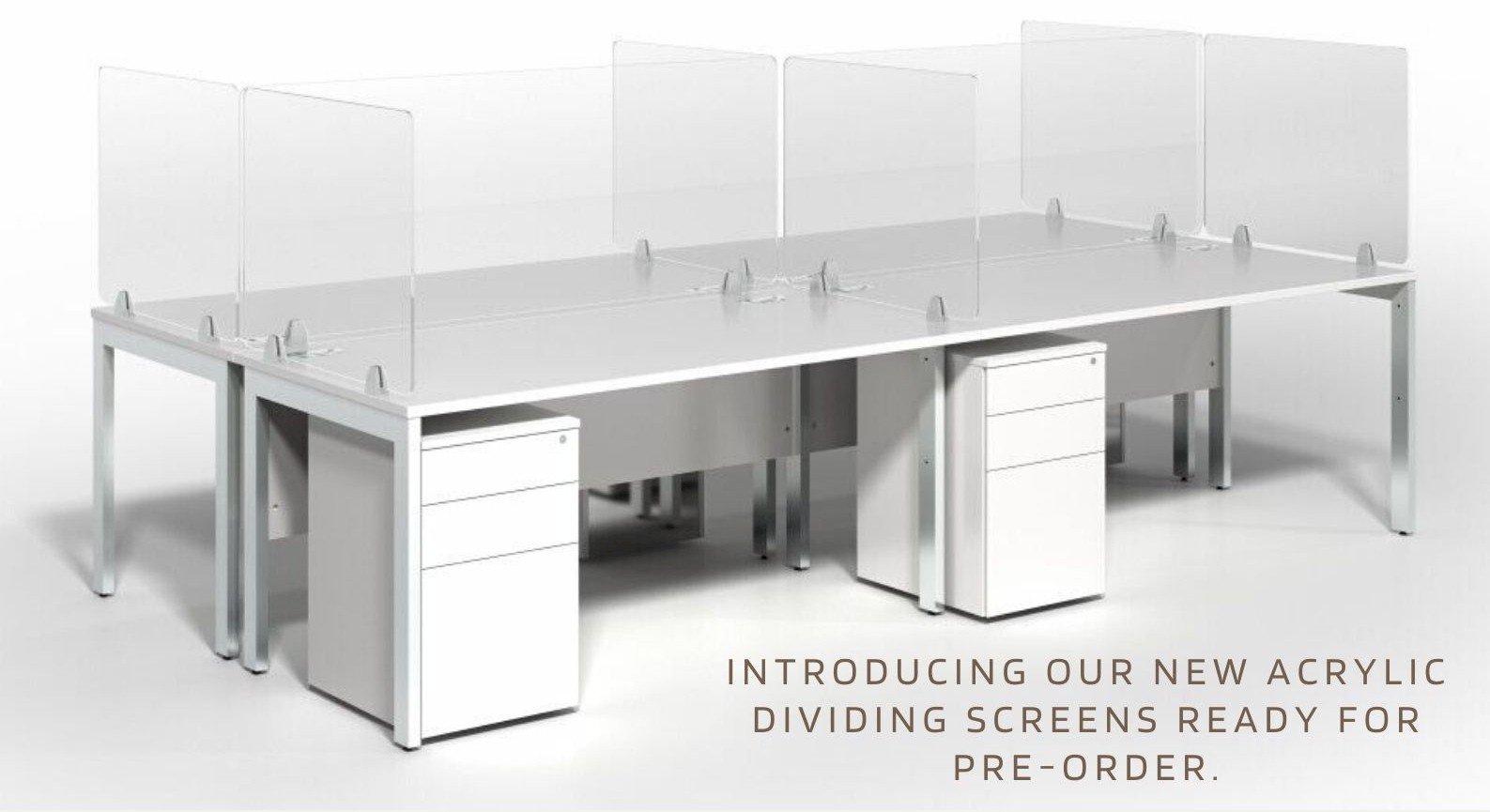 Desk Acrylic Screens